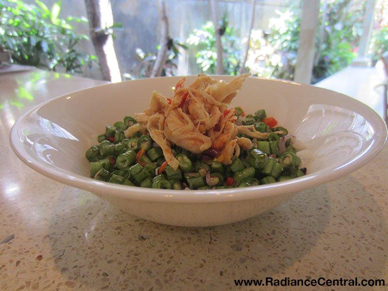 Indonesian Shredded Chicken with Chili Garlic Sauce Recipe - www.RadianceCentral.com