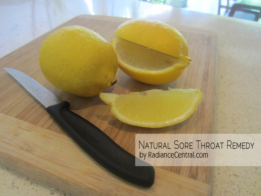 Natural Sore Throat Remedy - www.RadianceCentral.com