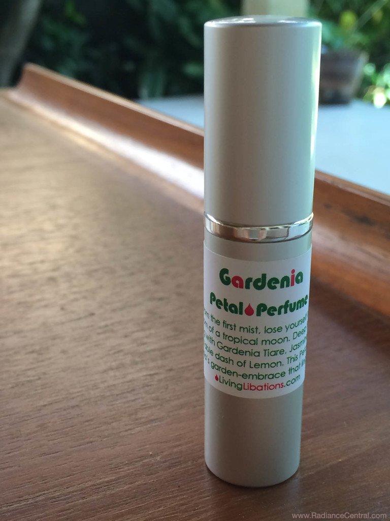 Living Libations Gardenia Petal Perfume - www.RadianceCentral.com