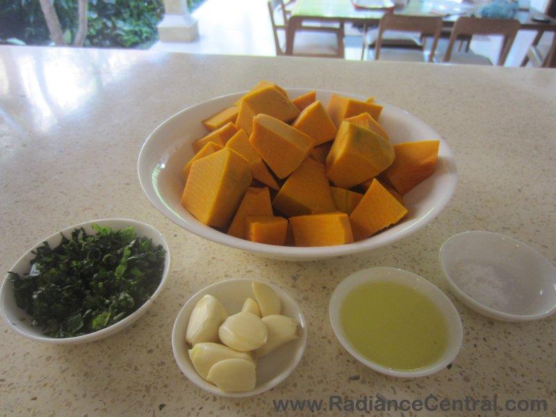 Roasted Pumpkin with Garlic & Basil Recipe-2- www.RadianceCentral.com