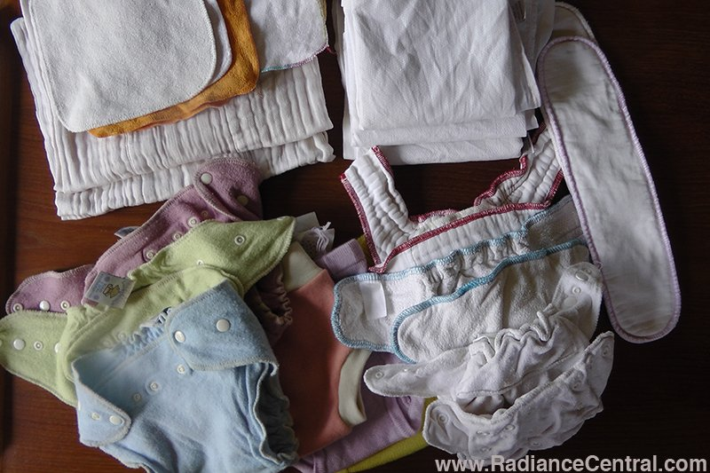 Cloth Diapering-www.RadianceCentral.com