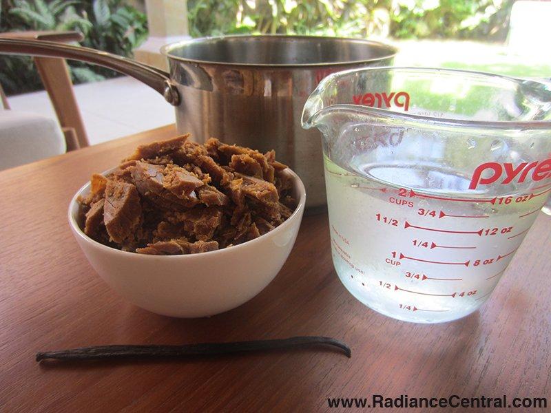 Coconut Palm Sugar Syrup Recipe- www.RadianceCentral.com
