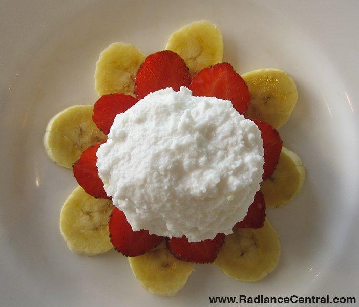 Homemade Coconut Ice Cream Recipe - www.RadianceCentral.com