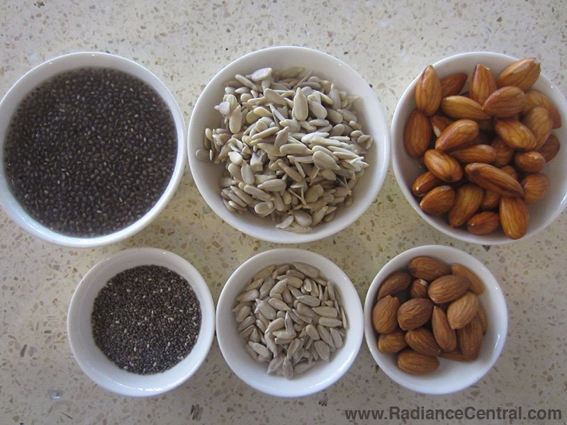 How To Soak Nuts & Seeds - www.RadianceCentral.com