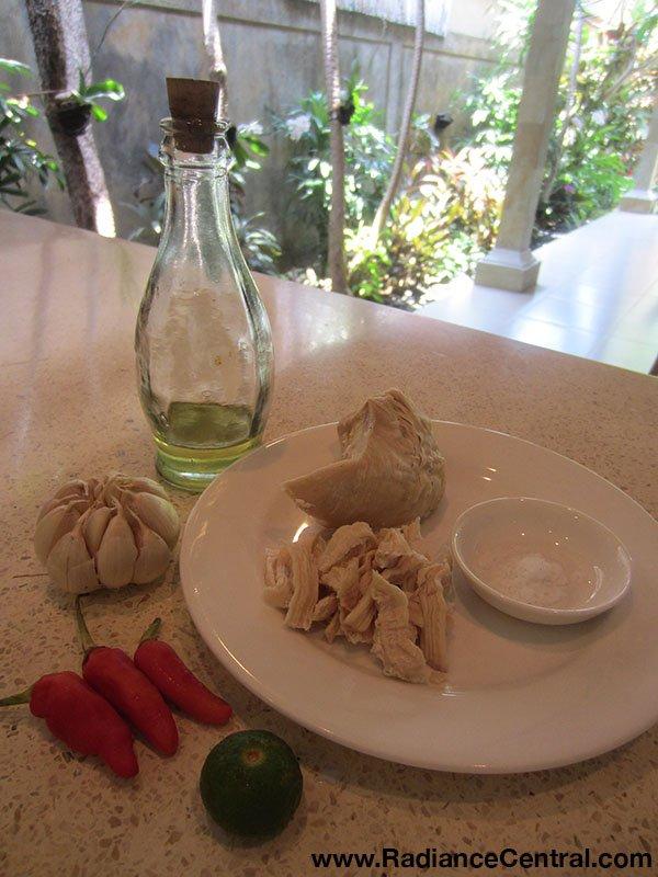 Indonesian Shredded Chicken with Chili Garlic Sauce Recipe 3- www.RadianceCentral.com