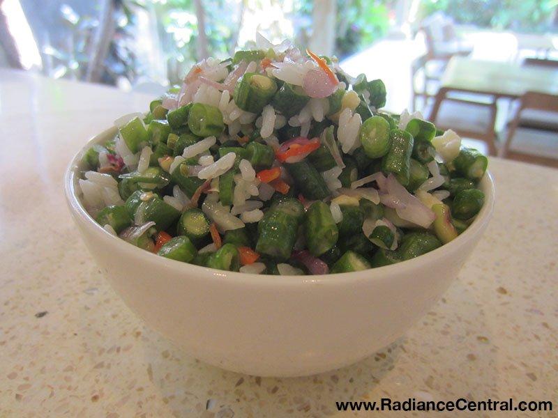 Indonesian Spicy Long Bean Salad (Lasuq) - www.RadianceCentral.com