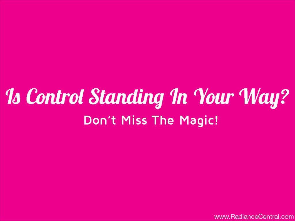 Control - www.RadianceCentral.com