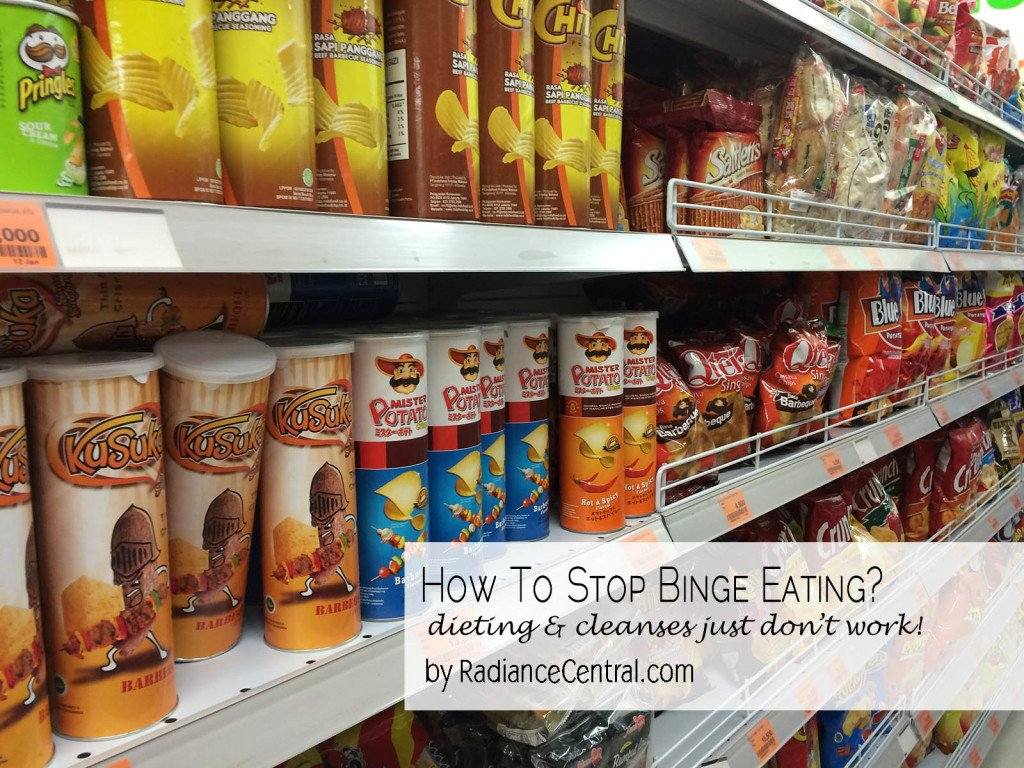 How To Stop Binge Eating - www.RadianceCentral.com