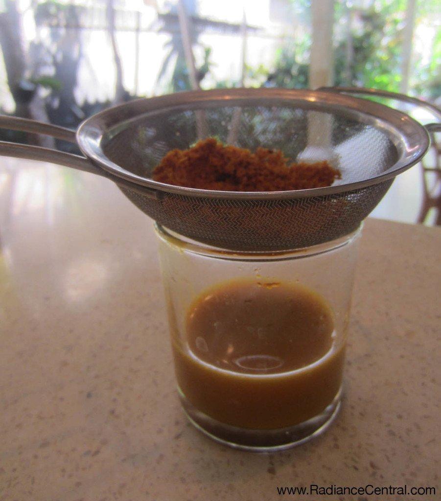Turmeric Tonic Recipe -2- www.RadianceCentral.com