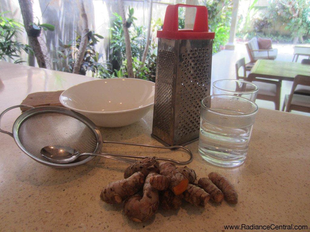 Turmeric Tonic Recipe -4- www.RadianceCentral.com