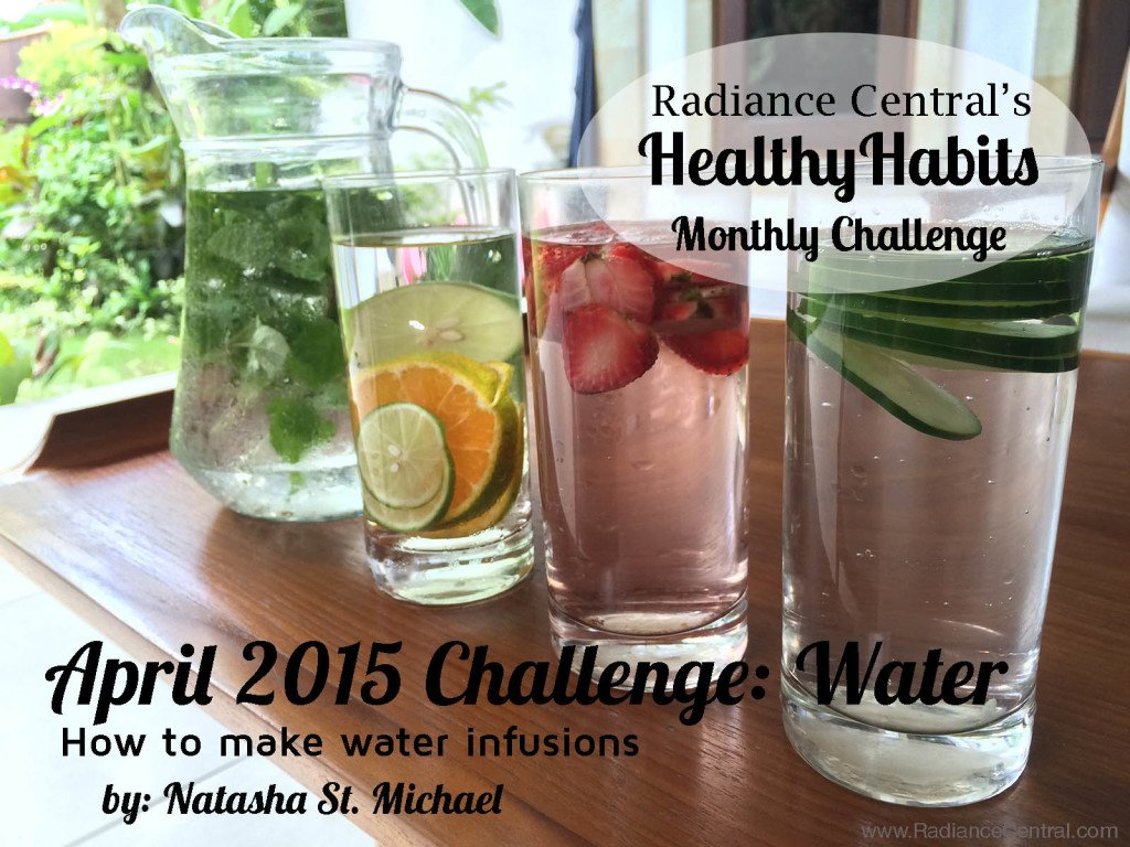 How To Make Water Infusions - www.RadianceCentral.com