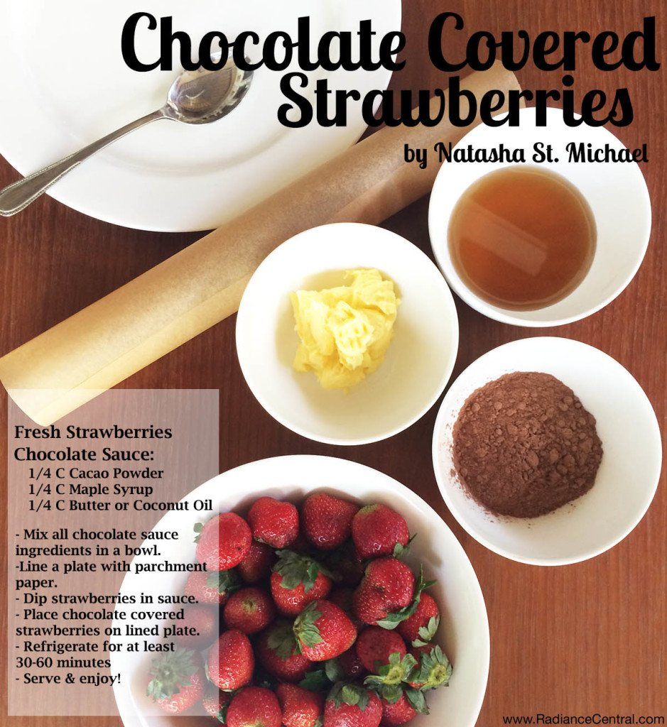 Chocolate Covered Strawberries Recipe-www.RadianceCentral.com