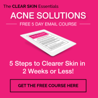 FREE Acne Solutions Email Course - www.theclearskinessentials.com