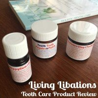 Living Libations Tooth Care Product Review - www.RadianceCentral.com