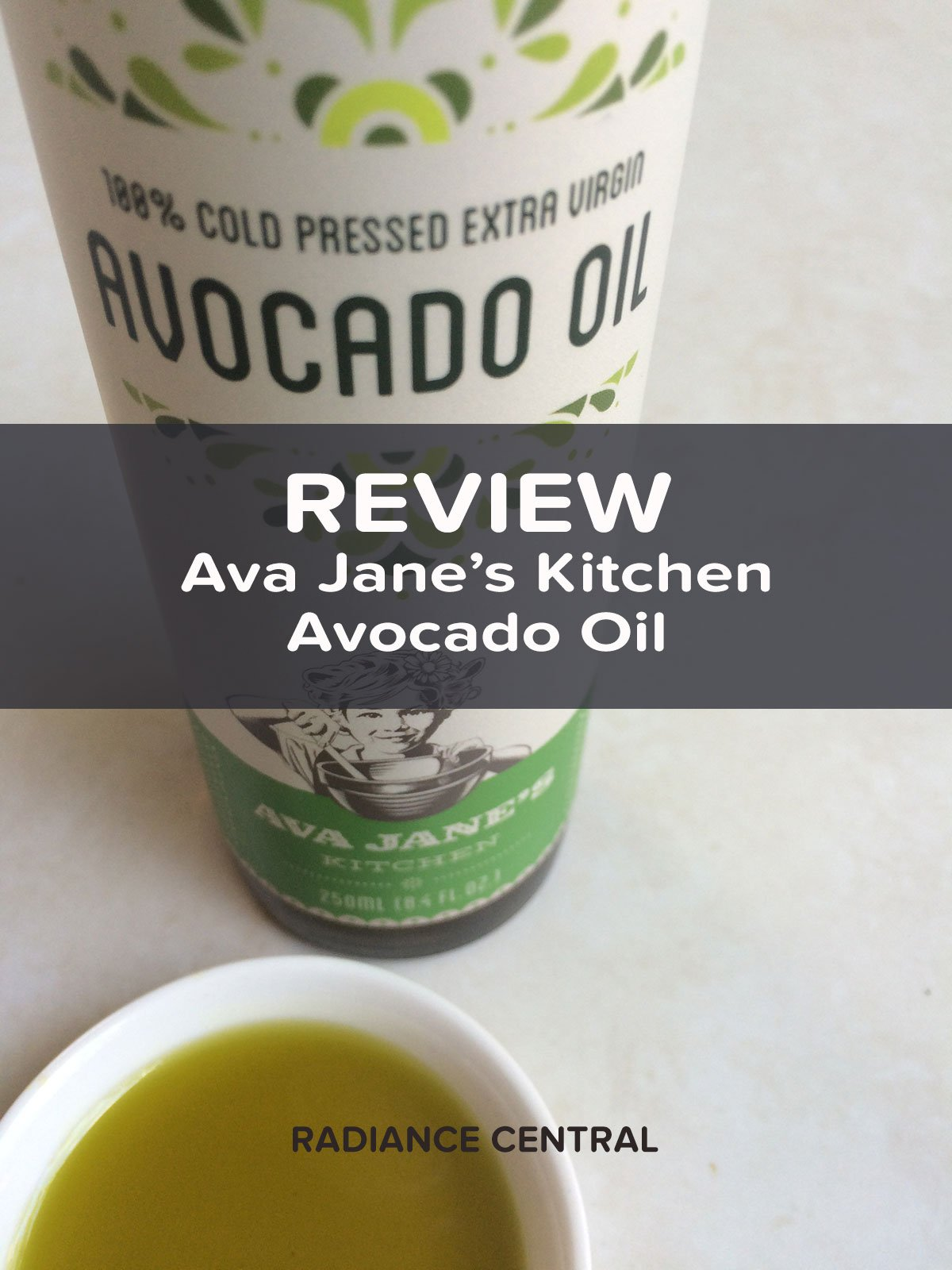 For many years I struggled finding a good quality cooing oil I liked and trusted. In came to a point where I made my own coconut oil, but even with that, I don't want everything tasting like coconuts! Then I found Ava Jane's Kitchen Avocado Oil and this is the best unfiltered, cold pressed oil on the market. Click through to learn more! | www.RadianceCentral.com